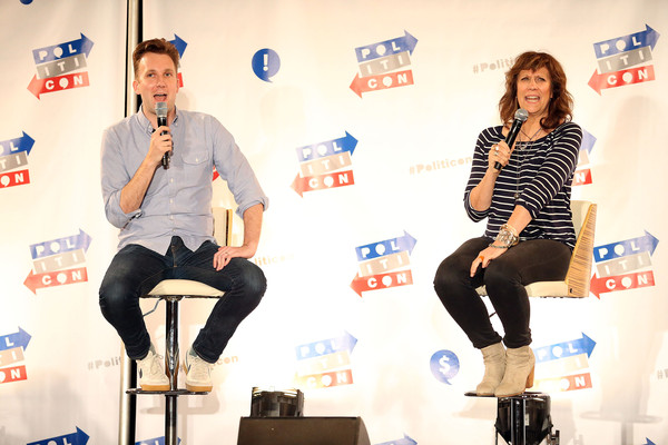 Jordan Klepper and Liz Winstead